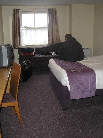 Premier Inn Portsmouth: Room 61 on 26.10.2008