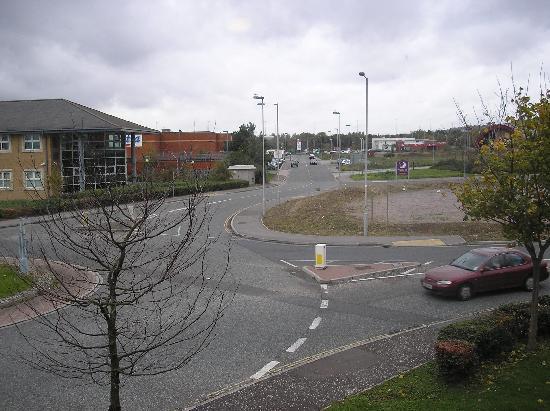 Premier Inn Portsmouth: view 2 from room 61