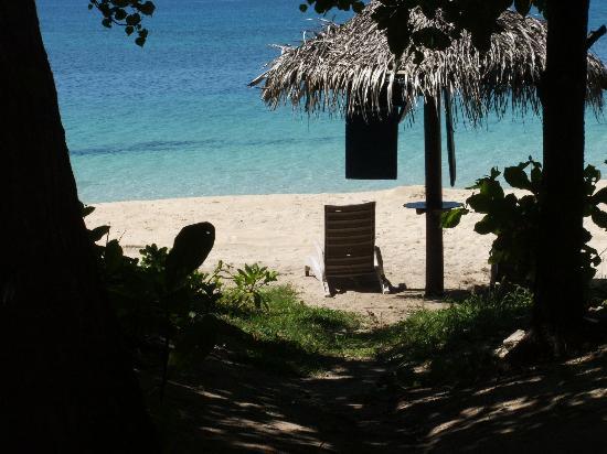 Treasure Island Resort: View from Bure
