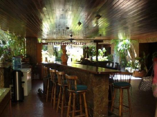 Hotel Castillo El Milagro: reception area