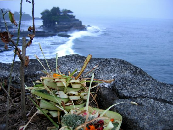 Nusa Dua, Indonesia: PRESENZA DEL SACRO