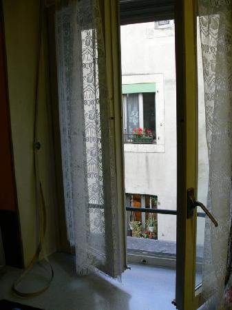 Hotel Rhodania : View from the room