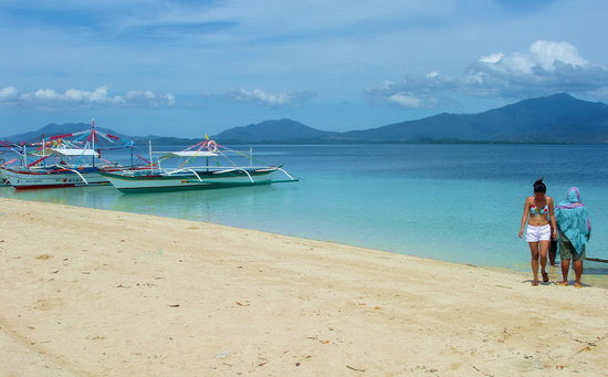 Puerto Princesa, Filippinene: Honda Bay island hopping