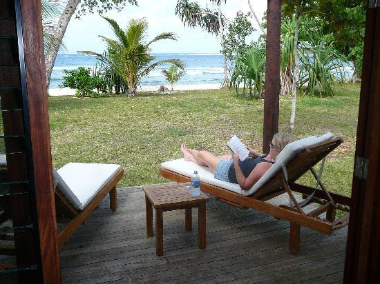 Eratap Beach Resort: view from lounge