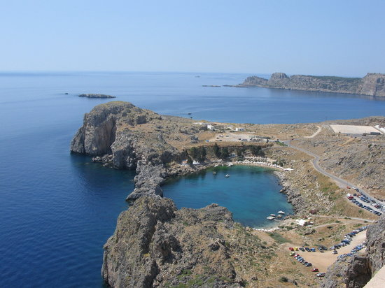 Lindos, Greece: St Pauls Bay