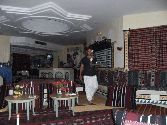 Hotel Djerba Les Dunes: le café maure