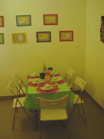 เอมี่ส์เฮ้าส์: Il tavolo della colazione