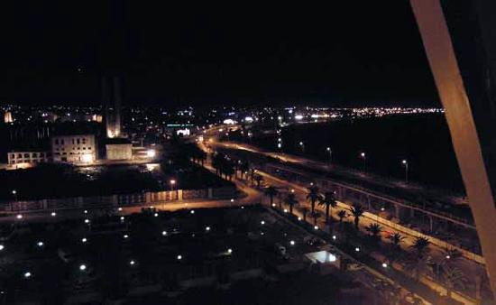 Laico Tunis Hotel: night view from the hotel