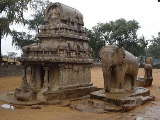 Mahabalipuram, India: Mamallapuram - Five Rathas