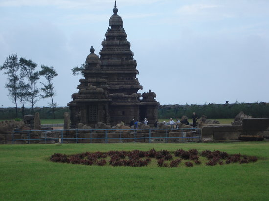 Mahabalipuram, India: Mamallapuram - Shore temple