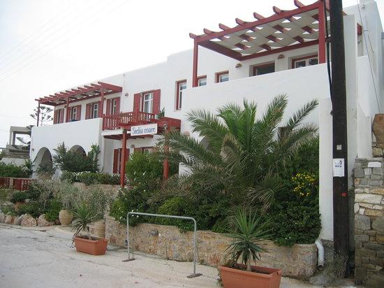 Stelia Mare Boutique Hotel: Front of Stelia Mare