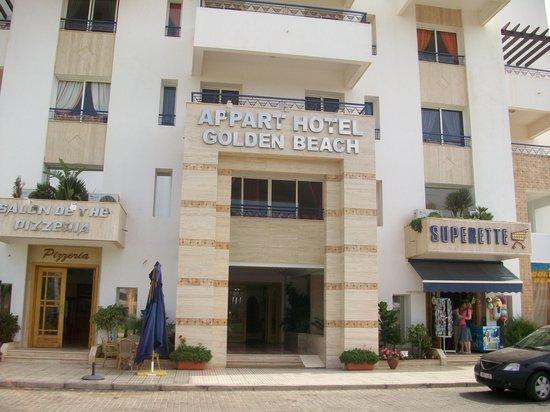 Golden Beach Appart-Hotel : front entrance