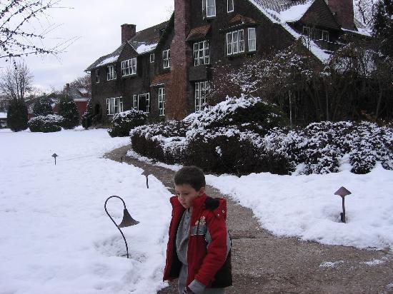 Kalispell, MT: Conrad Mansion - December