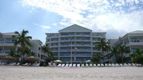 Caribbean Club: view from beach