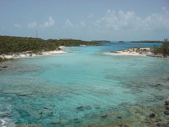 Staniel Cay Yacht Club: Cove near hotel (AWESOME!!)