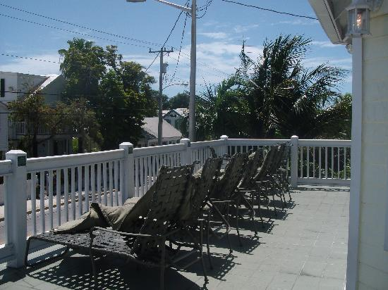 Budget Key West: The veranda