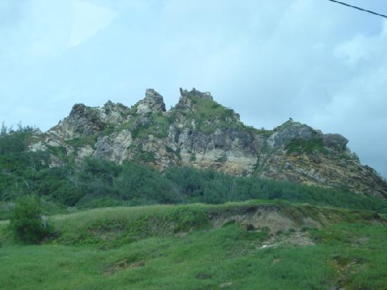 "Saint James Parish, باربادوس: ""The Sleeping Giant"""