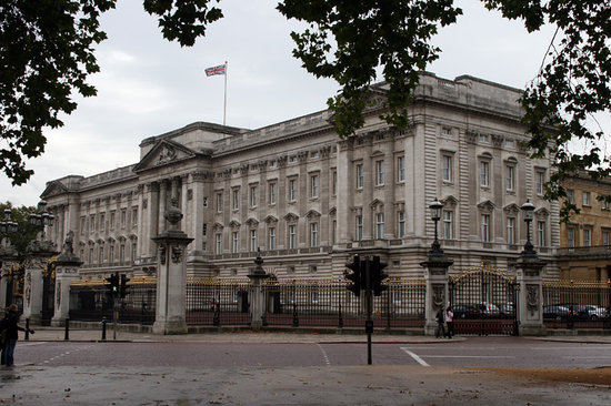 Londen, UK: Buckingham Palace