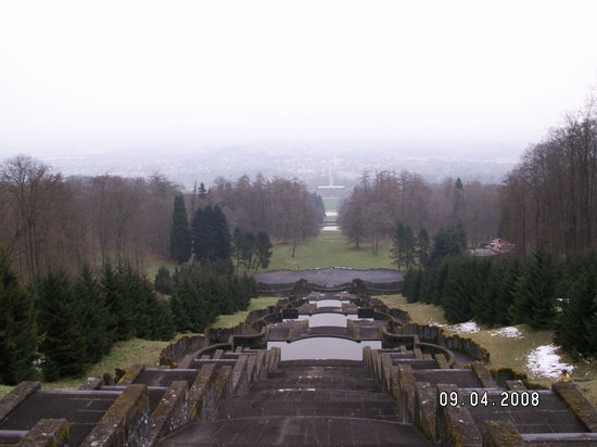 Bergpark: View looking back towards Kassel