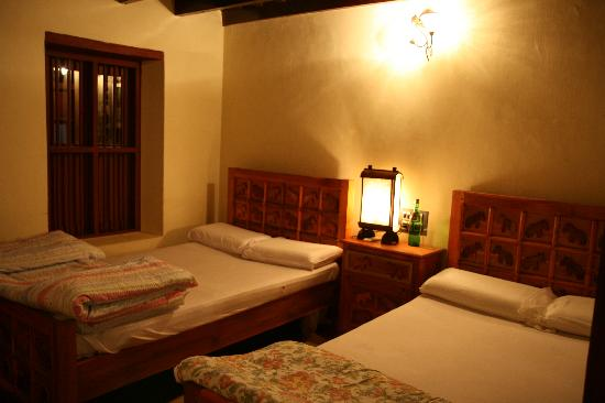Wayanad District, India: A double room