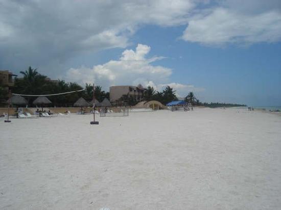 Telchac Puerto, Messico: Playas amplias