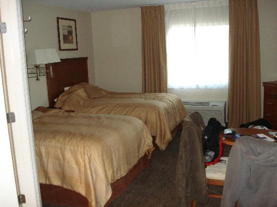 Candlewood Suites Secaucus: The double room