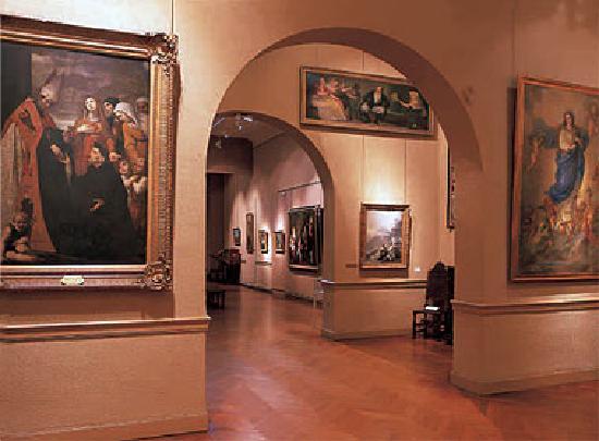 Castres, فرنسا: Interior museo Goya