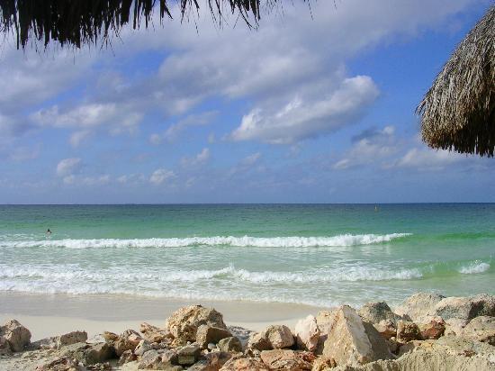 Casa Del Mar Beach Resort: Beach Erosion from Omar