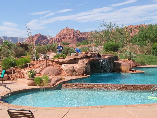 Home in entrada definitely drive around picture of the for Pool design utah