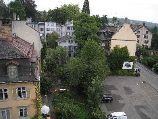 Plattenhof Hotel : view from our room on an upper floor