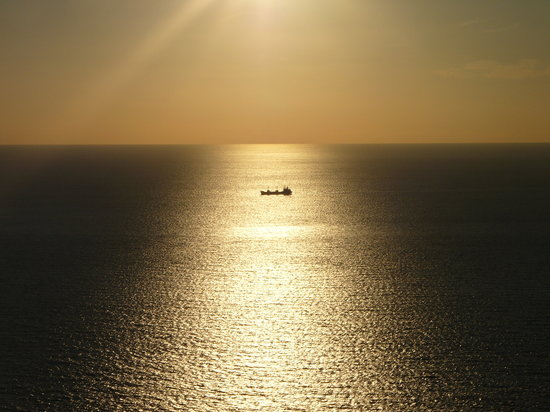 Zakynthos, Greece: a perfect sunset