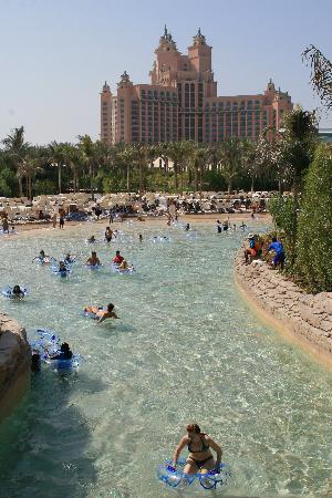 Atlantis, The Palm: View from aquadventure