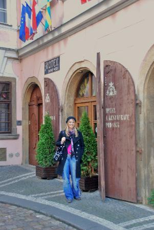 Hotel Pod Vezi: Hotel Entrance