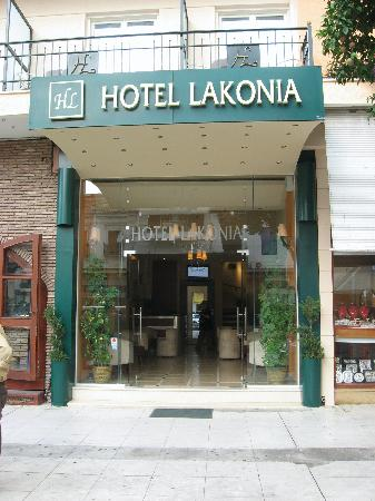 Lakonia Hotel : Front entrance of Hotel