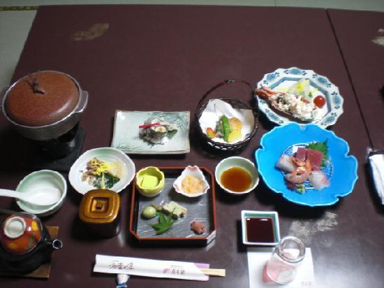 Senpokaku: 豪華な夕食が付いていました。