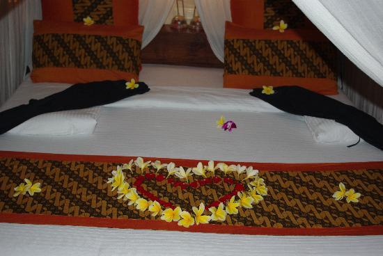 Jamahal Private Resort & SPA : Le lit