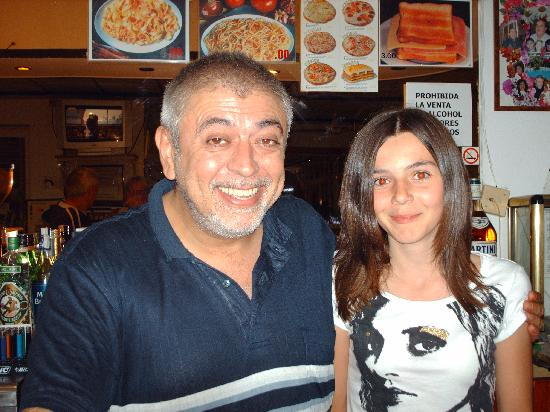 Apartamentos El Faro : This Picture Is Pepe With My Daughter