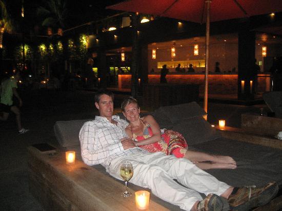 The Samaya Bali Seminyak: Relaxing with drinks @ ku De Ta