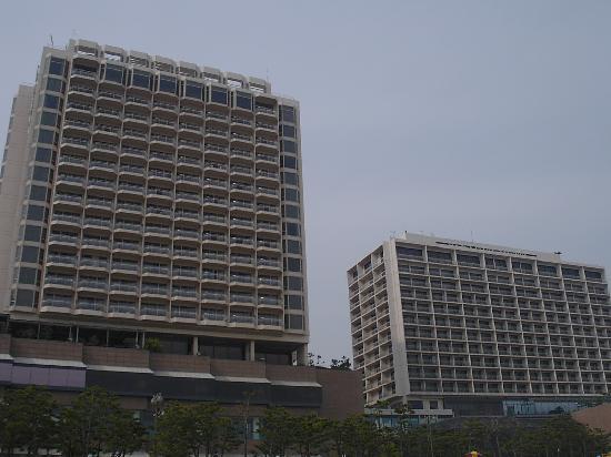 Paradise Hotel Busan : ホテル外観