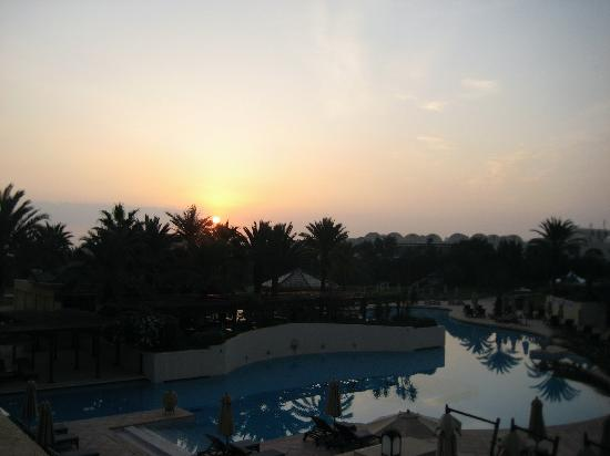 The Residence Tunis: Sunrise from our balcony