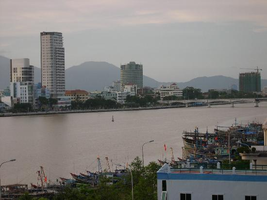 Danang Riverside Hotel: The View from my Hotel Room