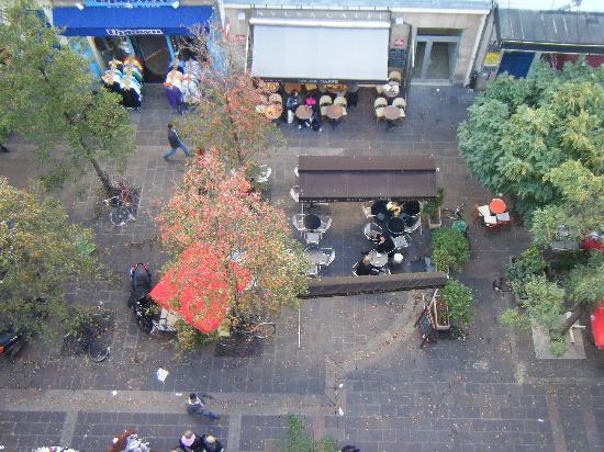 Hotel Agora: View from Balcony