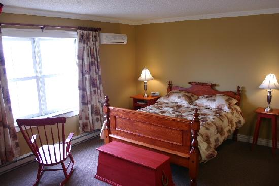 Bonavista, Kanada: the room with the view!