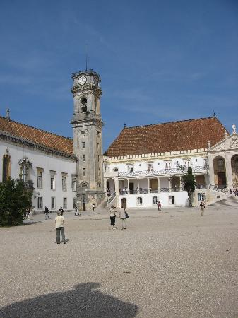 Coimbra, Portugal: University Tower
