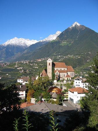 Hotel Hohenwart: Blick auf Schenna und Dorf Tirol