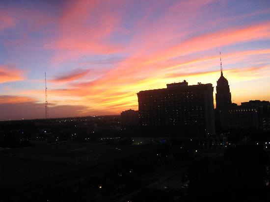 San Antonio Marriott Riverwalk: View from my balcony