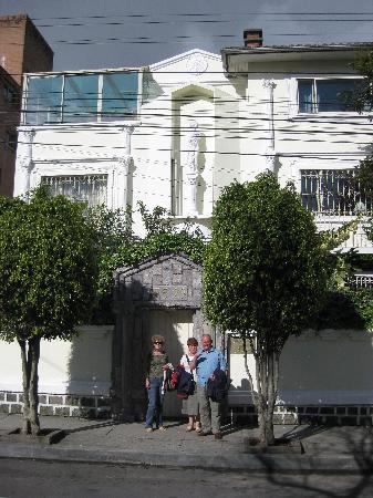 Boutique Hotel Mansion del Angel: Hotel front