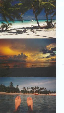 Several years ago, shots from Boracay