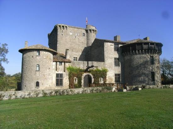 Amailloux, France: The castle