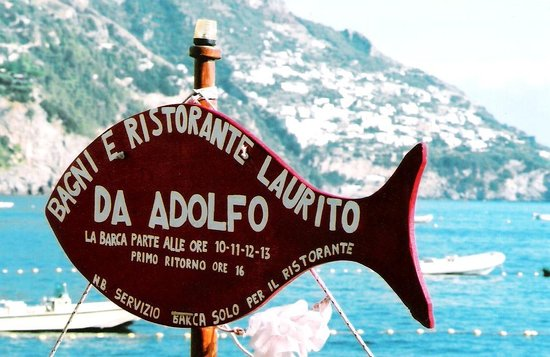 Photo of Italian Restaurant Da Adolfo at Via Laurito, 40, Positano, Italy